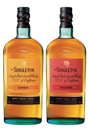 Diageos The Singleton of Dufftown Tailfire and Sunray