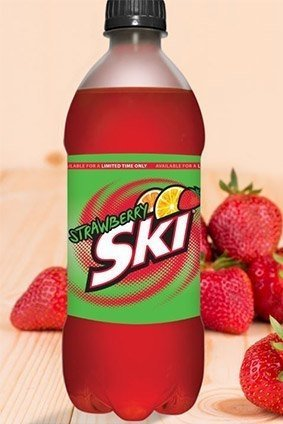The Double Cola Cos Strawberry Ski
