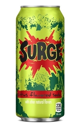 Coca-Cola relaunched Surge last year