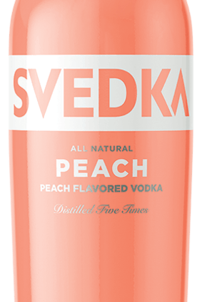 Constellation Brands Svedka Peach, launching in the US this month