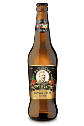 Henry Westons updated packaging