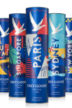 The Grey Goose 'Cities' packs will be available exclusively in Global Travel Retail