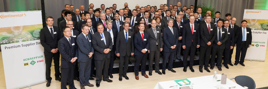 Continental and Schaeffler name nine new Premium Suppliers