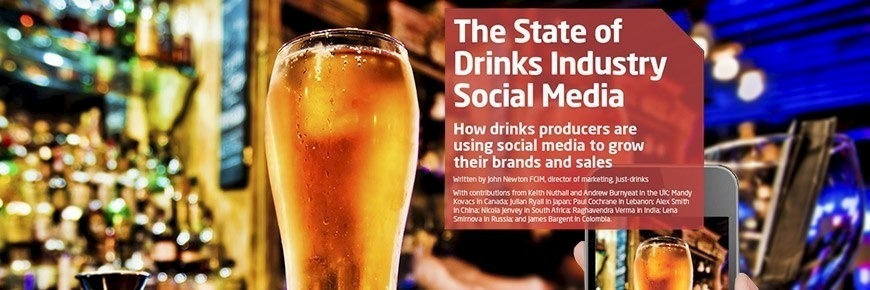 Drinks industry social media use