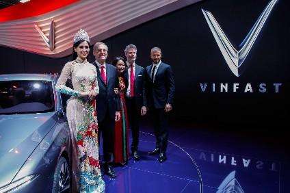 VinFast has had publicity help from famed British footballer David Beckham
