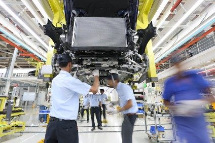 India is seen as a market with very good demand growth potential for automakers, especially premium brands; local assembly of CKD kits avoids high import tariffs