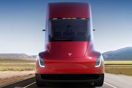 Semi will be built in Texas