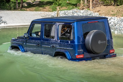 Second generation G-Class will be three years old next month